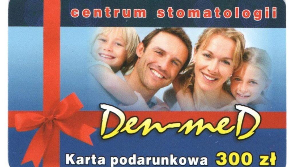 dentysta karta podarunkowa