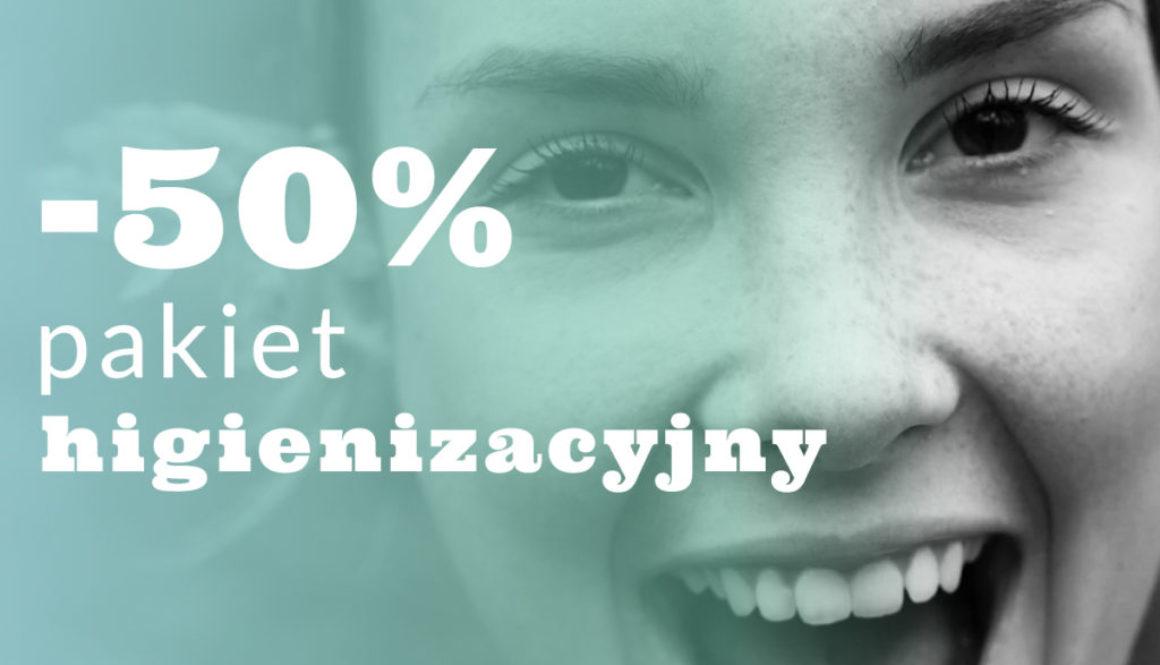 pakiet higienizacyjny w marcu 50% taniej